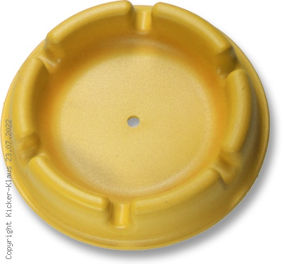 Kunststoff-Aschenbecher, farbig