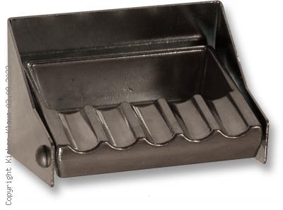 Klapp-Aschenbecher aus Metall