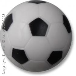 Kickerball mit Fußballmuster, kleiner Durchmesser