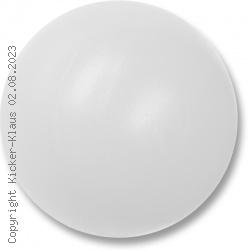 Kickerball aus Kunststoff, hart, einfarbig, kleiner Durchmesser