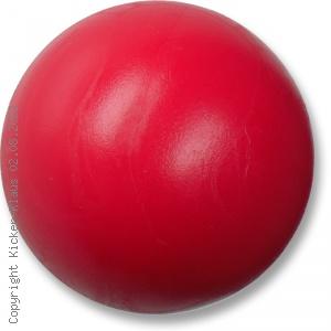 Kickerball aus Kunststoff, hart, einfarbig