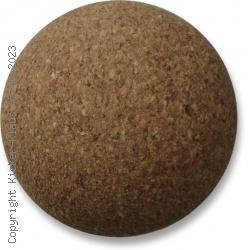 Kickerball aus Kork, kleiner Durchmesser