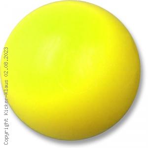 Kickerball aus Kunststoff, mittelhart, neonfarben