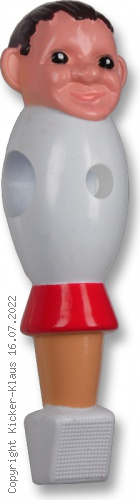 Figur im Turnier-Sieger Design, handbemalt
