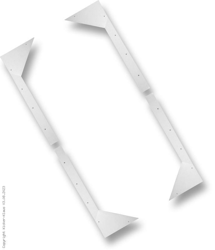 Satz mit 4 Spielfeld-Rahmenecken