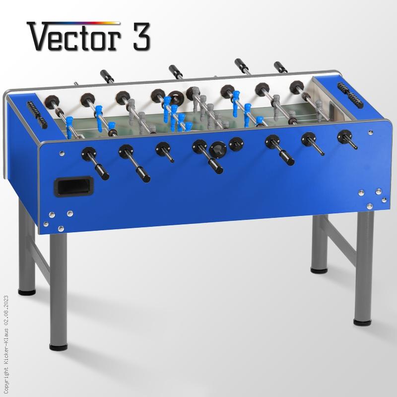 Kickertisch Vector 3