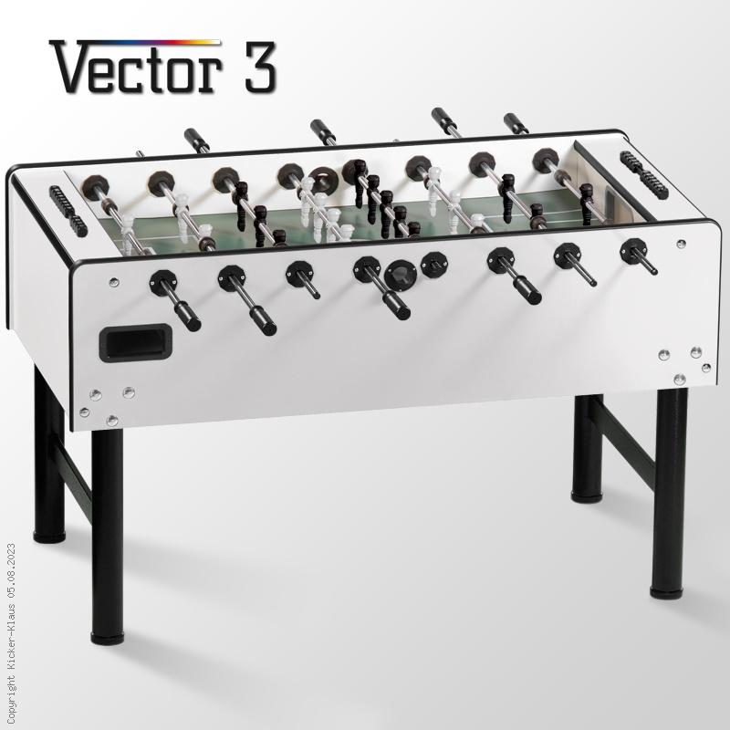 Kickertisch Vector® 3