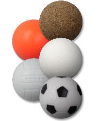 Einfache und klassische Kickerbälle