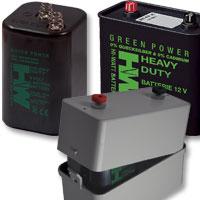 Batterien für Münz-Kickertische