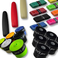 Kicker Griffbänder, Gummis und Schläuche