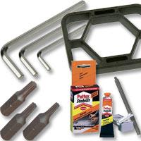 Werkzeuge und Hilfsmittel für den Kicker