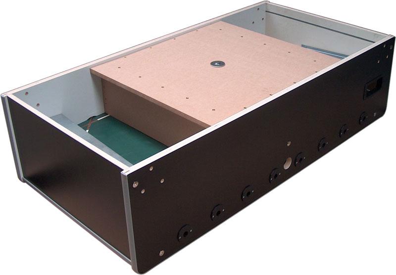 Vector Kicker Unterbau mit Zusatzgewicht